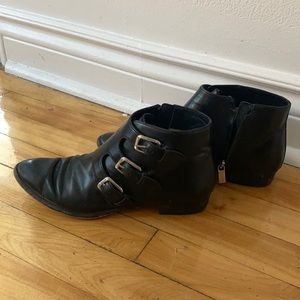 Michael Michael Kors leather booties